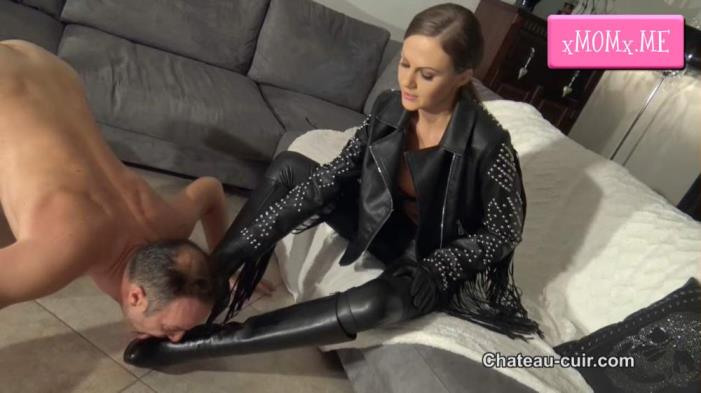Miss Tina - CUM ON HER DIVINE BOOTS (2018/HD)