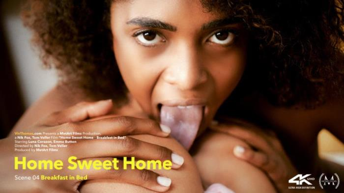 Emma Button - Luna Corazon - Home Sweet Home Episode 4 - Breakfast In Bed [FullHD/1080p/1.2 Gb] VivThomas