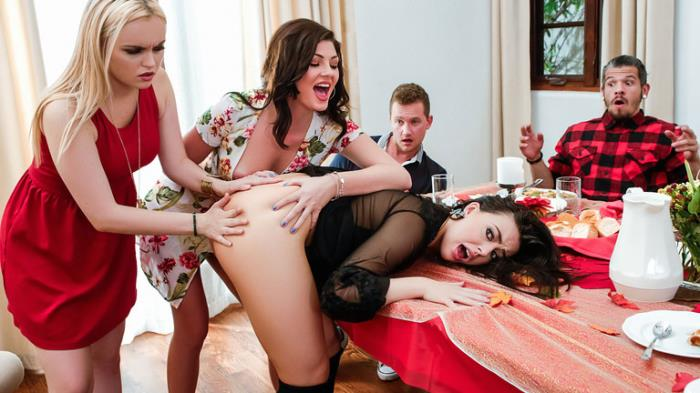 Whitney Wright, River Fox, Jessica Rex ~ Thanksgiving Dinner Sluts ~ SneakySex/RealityKings ~ FullHD 1080p