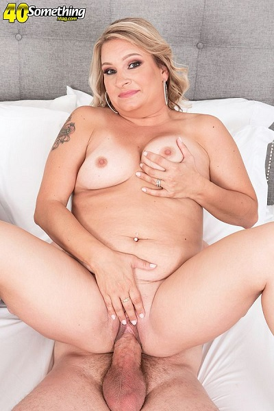 40SomethingMag.com/PornMegaLoad.com: Dakota Madisin - Dakota fucks her sons best friend [FullHD 1080p] (1.15 Gb)