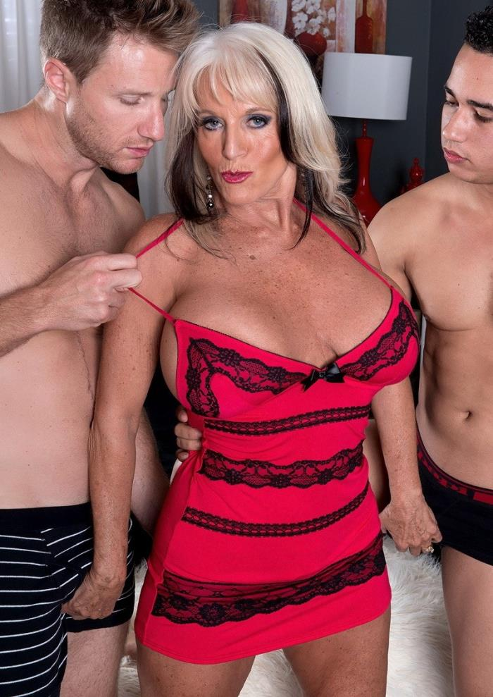 Sally DAngelo ~ Cumming-on Party For A Mature Bra-Buster ~ ScoreHD ~ HD 720p