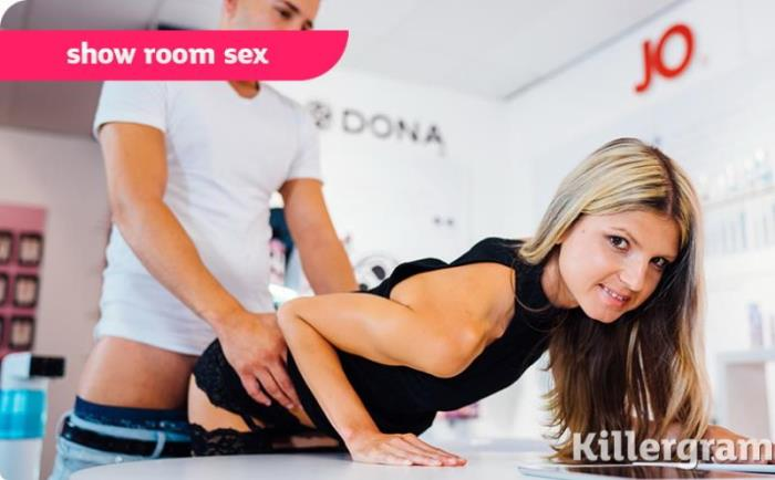 Killergram - Gina Gerson - Show Room Sex (Blowjob) [HD/720p/608 Mb]