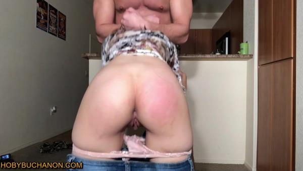 HobyBuchanon.com - Amateurs - South American Spinner Brutally Throat Fucked For Being Late [HD 720p]