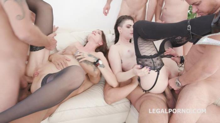 Bree Haze, Lydia Black, Neeo, Thomas Lee, Angelo, Thomas, Max Born, Rycky Optimal, Larry Steel - Bree Haze Vs Lydia Black 2 [HD/720p/1.6 Gb] LegalPorno.com