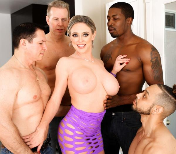 EvilAngel.com - Dee Williams - MILF Dees Interracial DP Gangbang! [HD 720p]
