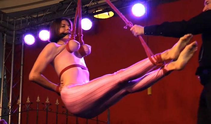 Another Public Breast Suspension live from Venus bip054,