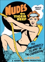 Darlene Bennett, Dawn Bennett, Gigi Darlene ~ Nudes on Tiger Reef ~ Barry Mahon ~ SD 460p