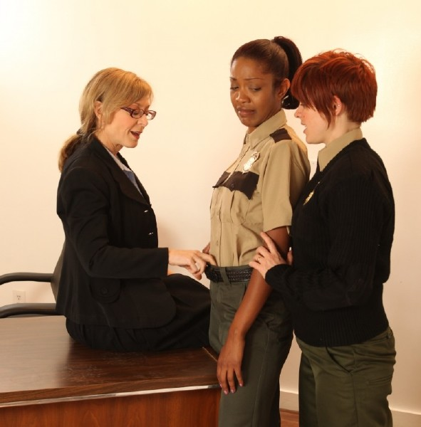 Lily Cade, Lotus Lain, Nina Hartly - New Guard, Lotus, is Forced to Prove Herself to Nina and Lily [HD 720p] - SexyMomma