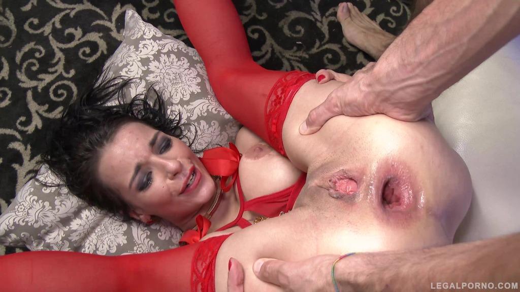 LegalPorno - Gonzo_com - Busty slut Sophia Laure assfucked & DP'ed in stripclub SZ1460