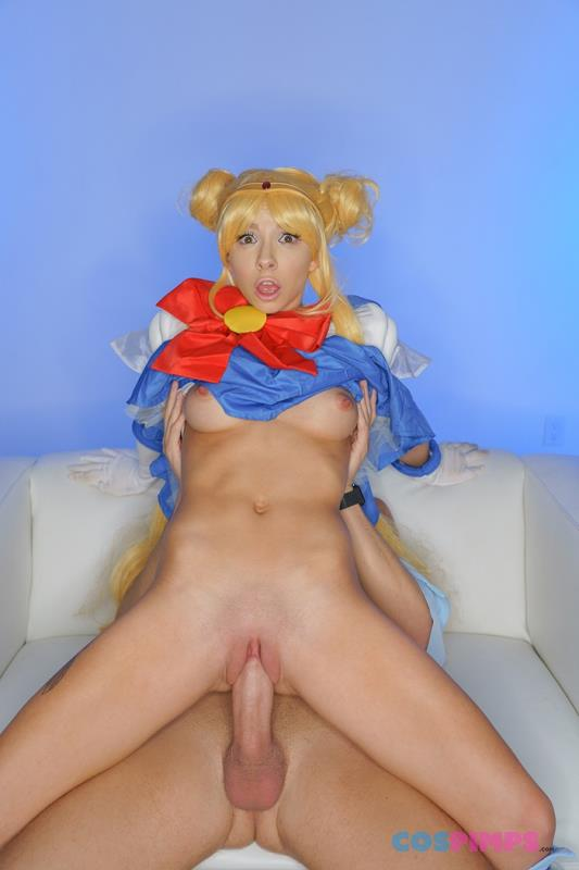 Sailor Moon Gets Creampied (Kenzie Reeves) CosPimps [SD]