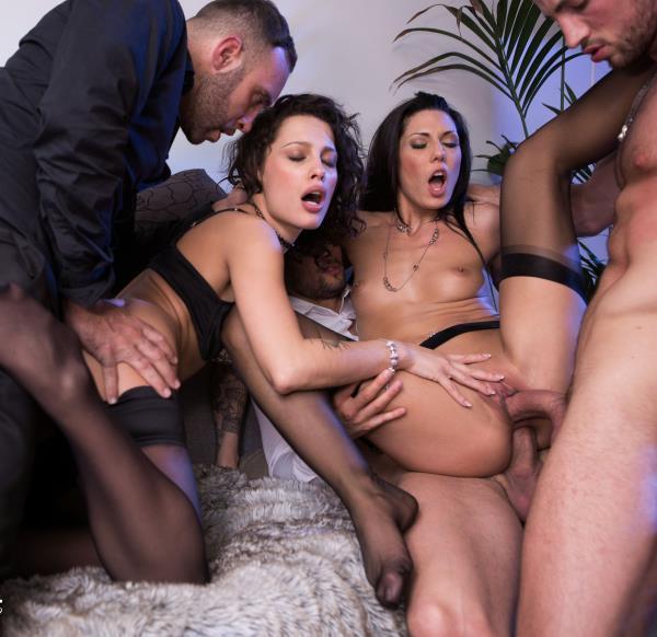 DorcelClub - Nikita Bellucci, Alexa Tomas - Nikita And Alexa, anal sex party with 3 men [FullHD 1080p]