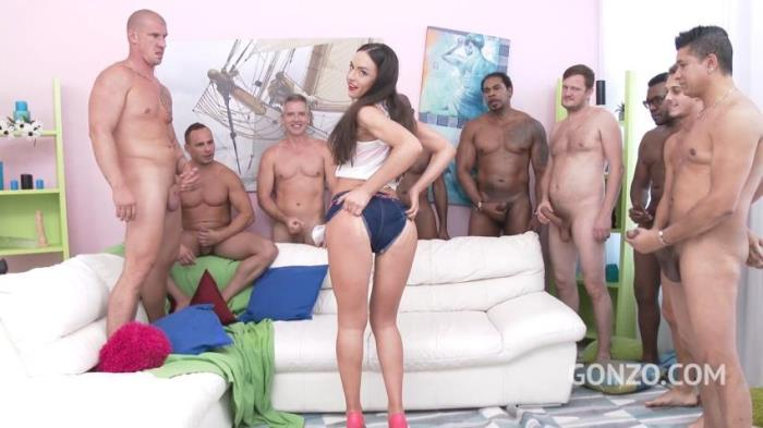 Nataly Gold, Franco Roccaforte, Mike, George Lee, Ian Scott, Ed Junior, Chris Diamond, Max Born, Moe The Monster, Dave - Nataly Gold Gangbang [HD 720p] - LegalPorno, Год производства: 2018
