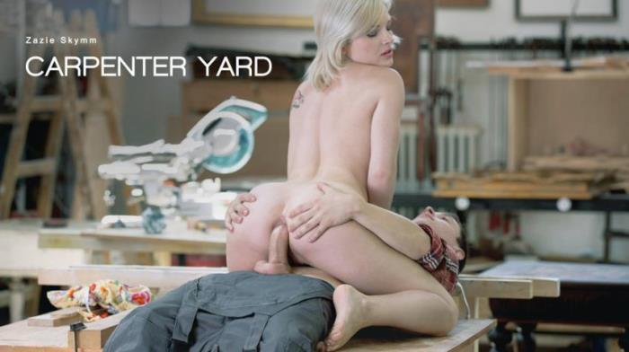 Zazie Skymm - Carpenter Yard [FullHD 1080p] - ElegantAnal / Babes