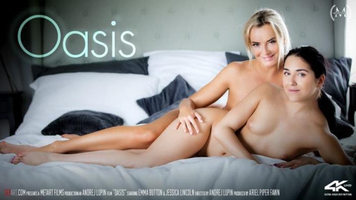 SexArt / MetArt: Oasis - (Emma Button - Jessica Lincoln) - Movie [FullHD 1080p]