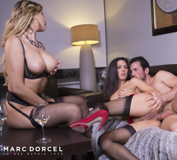 Alexa Tomas, Anna Polina - Hard And intense sex party with Alexa Tomas And Anna Polina [FullHD 1080p] - DorcelClub