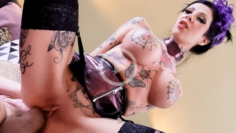 Tattooed Milf MeganS Gaping Anal Fuck (Megan Inky) EvilAngel [SD]