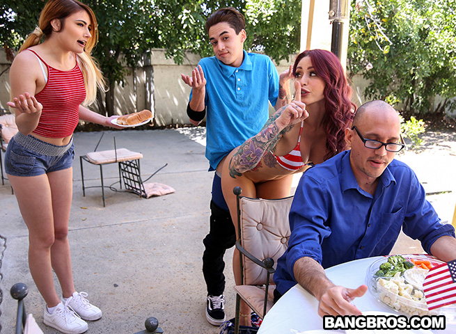 Awesome 4th Of July Threesome (Monique Alexander, Adria Rae) MomIsHorny [SD]