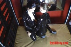 Lube with Sybill Troy & Mona Rogers