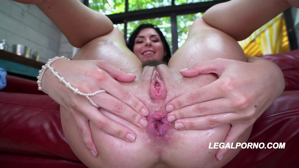 LegalPorno - American Anal - Tiny Keira Croft takes 2 BBC like a fucken champ HARD POUNDING / GAPES / CP / CUMFARTS / A2P AA020
