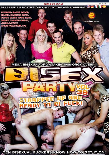 Bi Sex Party 39 - Strapped Up And Ready To Bi Fuck (2014)