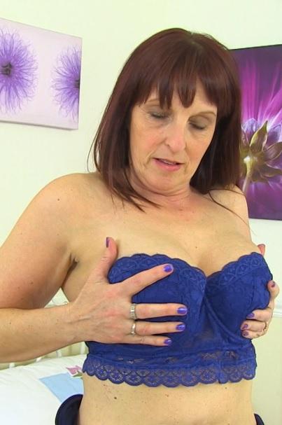 British housewife Beau Diamonds playing with herself