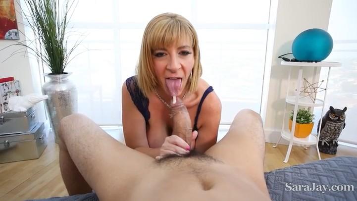 Sloppy Long Dick Blowjob (Sara Jay) SaraJay [SD]