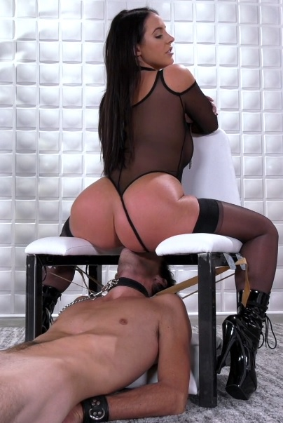 Angela White – Dinner is Served