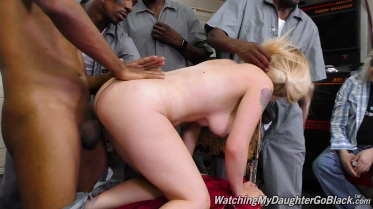 Watching My Daughter Go Black - Casey Ballerini - GangBang Big Black Cock - 20.07.2018  - 1080p Free Download From pornparadise.org