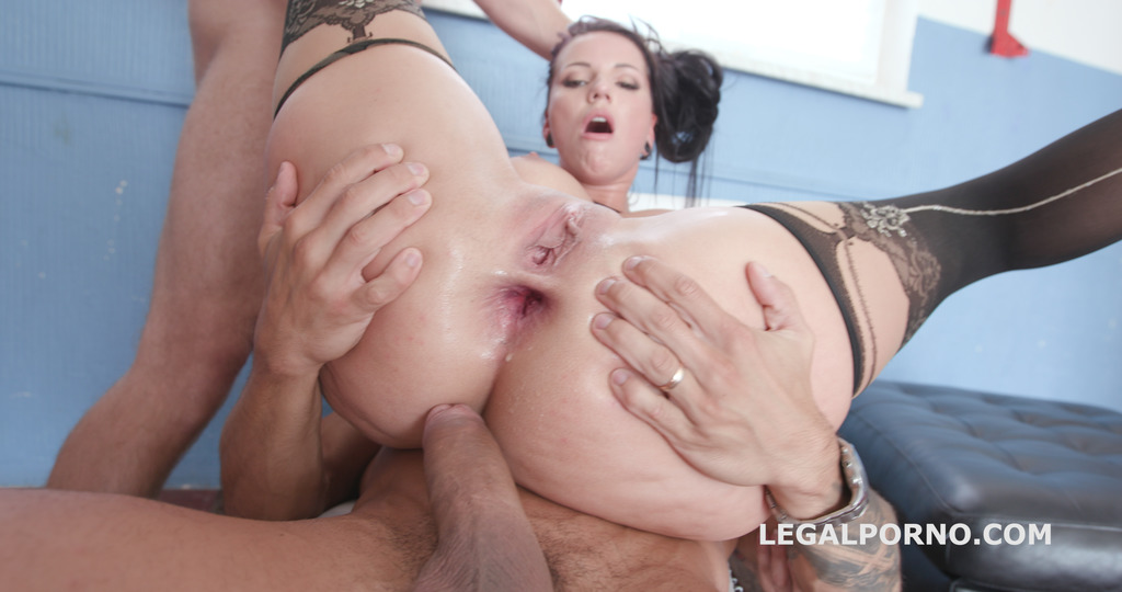 LegalPorno - Giorgio Grandi - BlackEnded with Jolee Love 4 white then 4 black No Pussy / DAP / Gapes / Farts / Swallow / Facial - All At Once GIO732