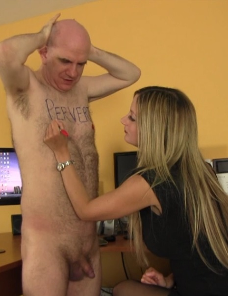 Office Perv's Punishment