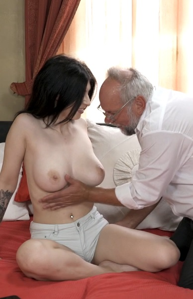 Sheril Blossom in Fuck My Pussy Grandpa