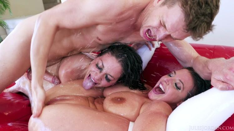 JulesJordan 18 07 30 Angela White And Kissa Sins XXX 1080p MP4-KTR Free Download