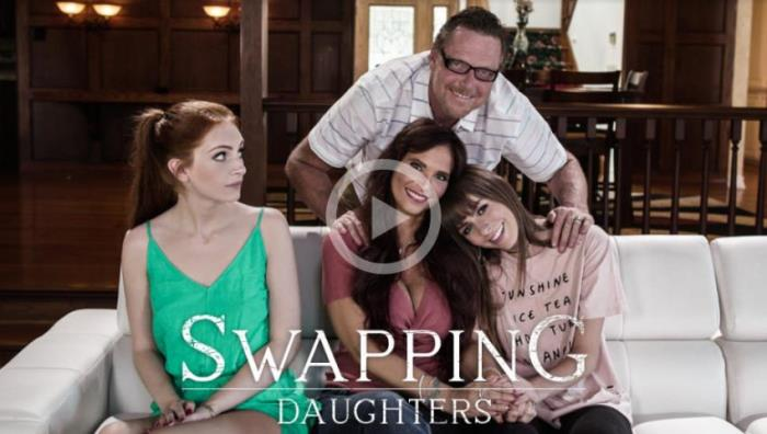 Alex Blake, Syren De Mer - Swapping Daughters (2018/PureTaboo/SD/400p)