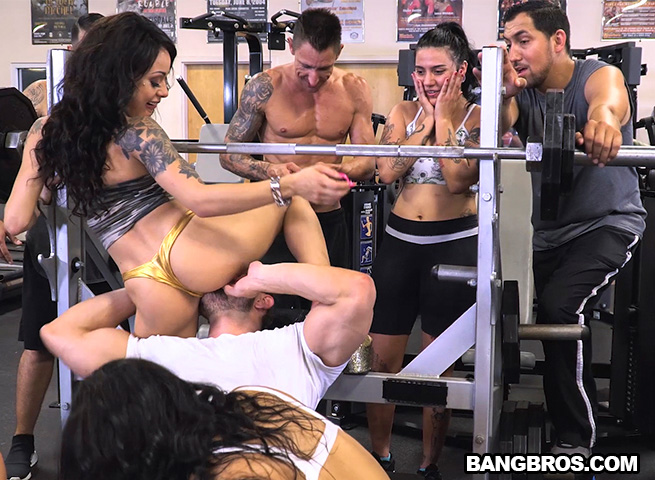 A Workout for Your Cock! (Rose Monroe, Holly Hendrix, Mia Martinez) FuckTeamFive [SD]