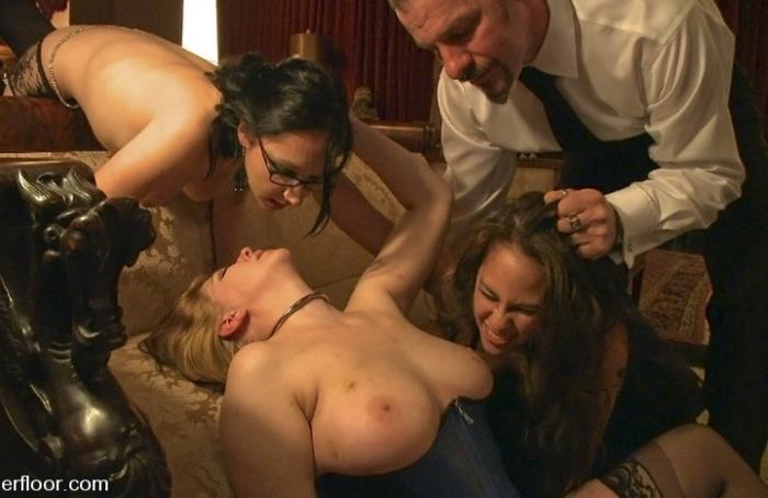 Hollie Stevens, Cherry Torn - New Year Orgy [Kink / SD 480p]