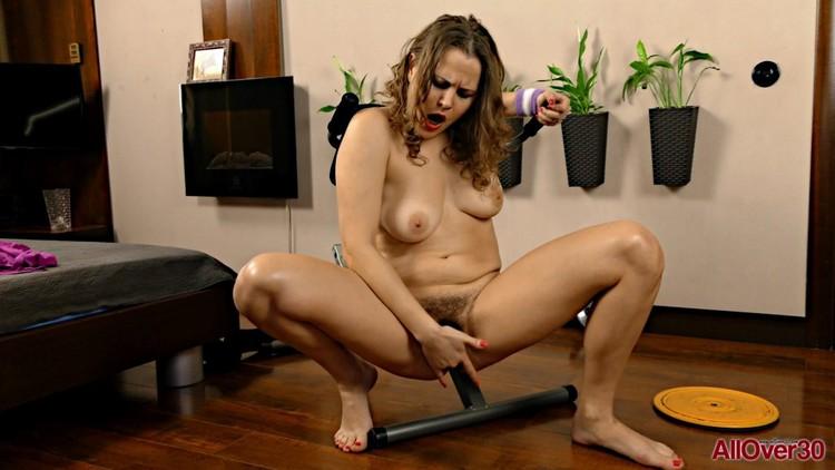 AllOver30 18 08 10 Afeena Mature Pleasure XXX 1080p MP4-KTR Free Download