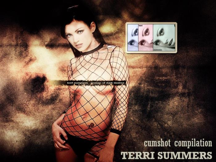 Terri Summers - Cumshot compilation [SD 480p]