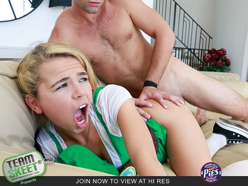 Alina West: Girl Scout Creampie Surprise (FullHD / 1080p / 2018) [TeamSkeet]