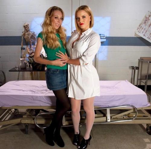 Emma Haize, Krissy Lynn - The Anal Nurse (2018/HD)