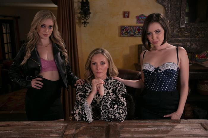 MommysGirl: The Family Business - Jenna Sativa, Mona Wales, Kali Roses [2018] (FullHD 1080p)