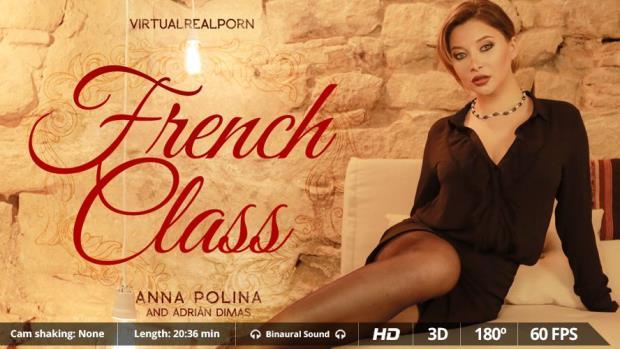 Anna Polina - French Class [UltraHD 2K 1600p]