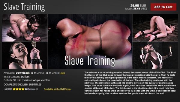 N/A - Slave Training (2018/HD)