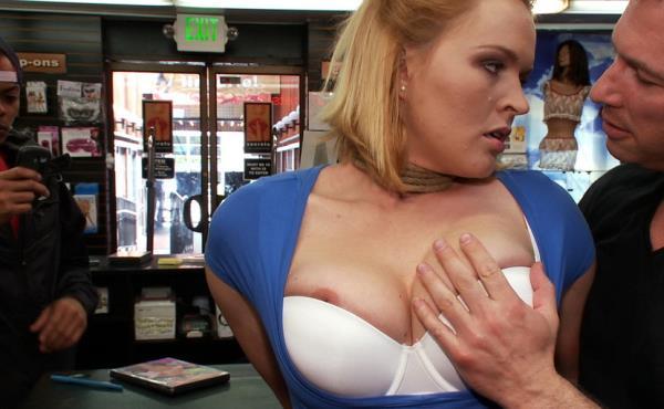 Krissy Lynn - In Over Her Head: Agressive Public Sex (2018/HD)