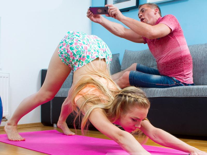 Alecia Fox: Flexibility Challenge (5K / 2160p / 2018) [VirtualRealPorn]