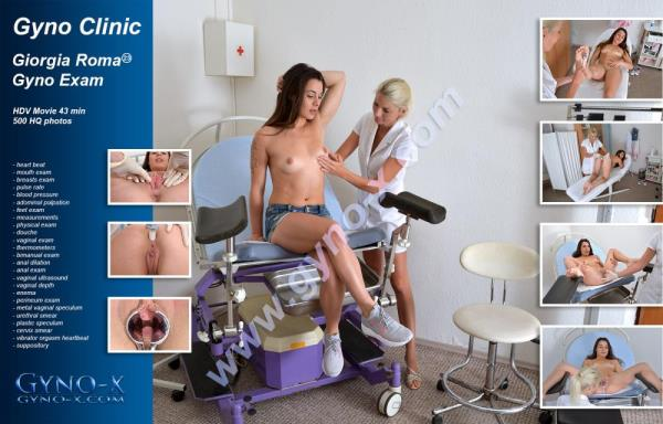 Giorgia Roma - 23 years girl gyno exam  [Gyno-X.com]