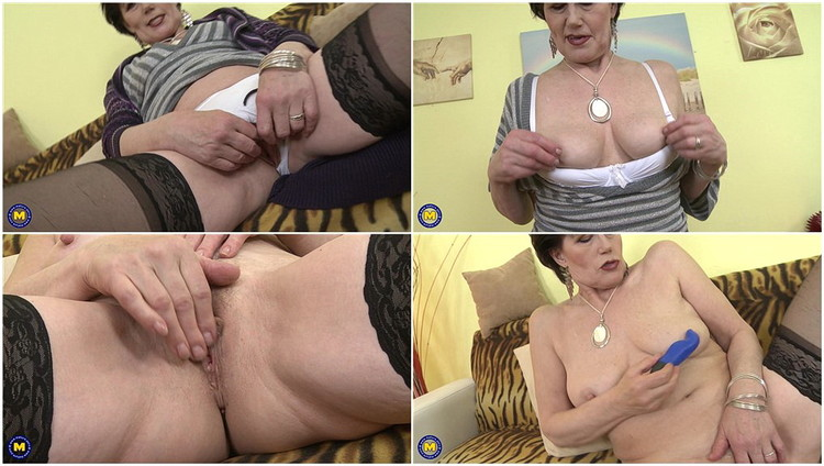 Party french masturbating mature