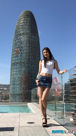 Miyuki - Asian Latina Mix Back For More Dateslam Dick [HD/720p/603.11 Mb] DateSlam