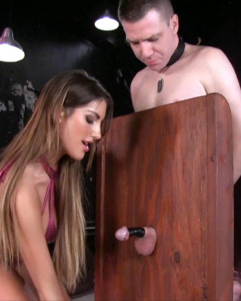 August Ames - Disfiguring Cock and Balls