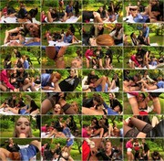 Tainster.com - Mona Lee, Lucy Bell, Isabella Chrystin, Chaynee, Alyssia Loop, Bella Baby, Terra Sweet - Piss Bitch In The Middle Part 2 [HD 720p]