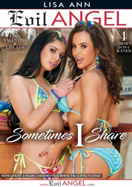 Brett Rossi, Gina Valentina, Honey Gold, Lisa Ann, Markus Dupree, Prince Yahshua, Raven Hart, Ricky Johnson, Ryan Driller - Sometimes I Share [Evil Angel / SD 544p]